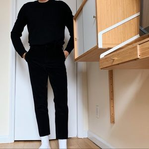 Acne studios Stan trousers corduroy black